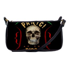 Panic At The Disco Poster Shoulder Clutch Bags by Samandel