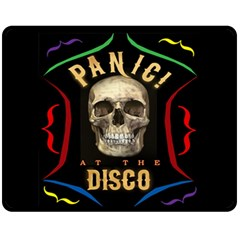 Panic At The Disco Poster Fleece Blanket (medium)  by Samandel