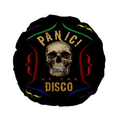 Panic At The Disco Poster Standard 15  Premium Round Cushions by Samandel
