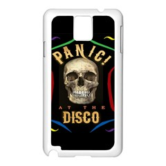 Panic At The Disco Poster Samsung Galaxy Note 3 N9005 Case (white) by Samandel
