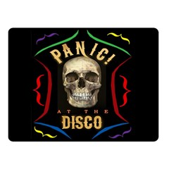 Panic At The Disco Poster Double Sided Fleece Blanket (small)  by Samandel