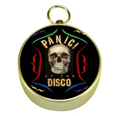 Panic At The Disco Poster Gold Compasses by Samandel