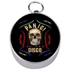 Panic At The Disco Poster Silver Compasses by Samandel