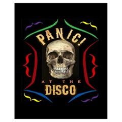Panic At The Disco Poster Drawstring Bag (small) by Samandel