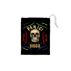 Panic At The Disco Poster Drawstring Pouches (xs)  by Samandel