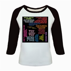 Panic At The Disco Northern Downpour Lyrics Metrolyrics Kids Baseball Jerseys by Samandel