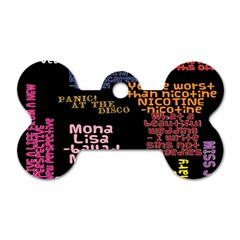 Panic At The Disco Northern Downpour Lyrics Metrolyrics Dog Tag Bone (one Side) by Samandel