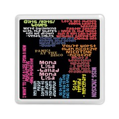 Panic At The Disco Northern Downpour Lyrics Metrolyrics Memory Card Reader (square)  by Samandel