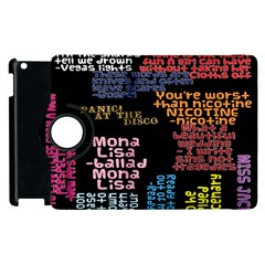 Panic At The Disco Northern Downpour Lyrics Metrolyrics Apple Ipad 3/4 Flip 360 Case