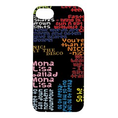 Panic At The Disco Northern Downpour Lyrics Metrolyrics Apple Iphone 5s/ Se Hardshell Case by Samandel