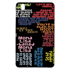 Panic At The Disco Northern Downpour Lyrics Metrolyrics Samsung Galaxy Tab Pro 8 4 Hardshell Case by Samandel