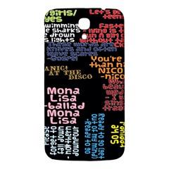 Panic At The Disco Northern Downpour Lyrics Metrolyrics Samsung Galaxy Mega I9200 Hardshell Back Case by Samandel