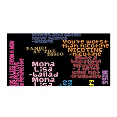 Panic At The Disco Northern Downpour Lyrics Metrolyrics Satin Wrap by Samandel