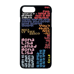 Panic At The Disco Northern Downpour Lyrics Metrolyrics Apple Iphone 8 Plus Seamless Case (black) by Samandel