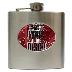 Panic At The Disco Poster Hip Flask (6 Oz)