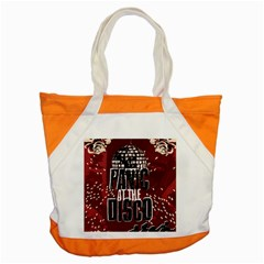 Panic At The Disco Poster Accent Tote Bag by Samandel