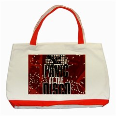Panic At The Disco Poster Classic Tote Bag (red) by Samandel