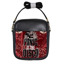 Panic At The Disco Poster Girls Sling Bags