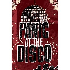 Panic At The Disco Poster 5 5  X 8 5  Notebooks