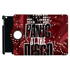 Panic At The Disco Poster Apple Ipad 2 Flip 360 Case by Samandel
