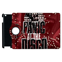 Panic At The Disco Poster Apple Ipad 3/4 Flip 360 Case by Samandel