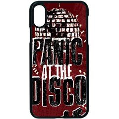 Panic At The Disco Poster Apple Iphone X Seamless Case (black) by Samandel