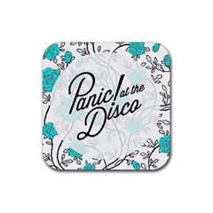 Panic At The Disco Quote Rubber Square Coaster (4 Pack)