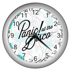 Panic At The Disco Quote Wall Clocks (silver)