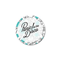 Panic At The Disco Quote Golf Ball Marker (4 Pack)
