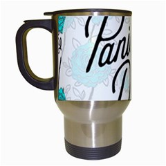 Panic At The Disco Quote Travel Mugs (white) by Samandel