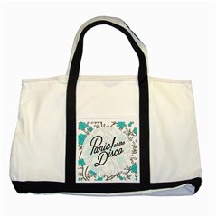 Panic At The Disco Quote Two Tone Tote Bag by Samandel