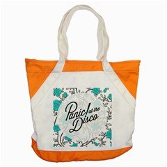 Panic At The Disco Quote Accent Tote Bag by Samandel
