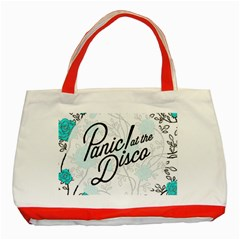 Panic At The Disco Quote Classic Tote Bag (red) by Samandel