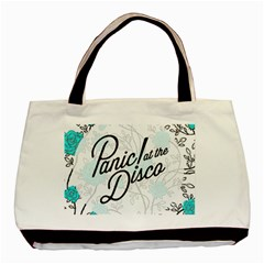 Panic At The Disco Quote Basic Tote Bag (two Sides) by Samandel
