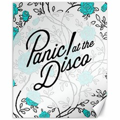 Panic At The Disco Quote Canvas 11  X 14   by Samandel