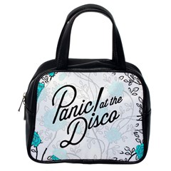 Panic At The Disco Quote Classic Handbags (one Side)