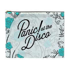 Panic At The Disco Quote Cosmetic Bag (xl) by Samandel