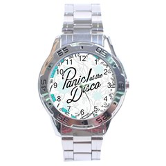 Panic At The Disco Quote Stainless Steel Analogue Watch by Samandel