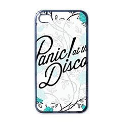 Panic At The Disco Quote Apple Iphone 4 Case (black) by Samandel