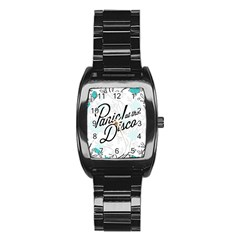 Panic At The Disco Quote Stainless Steel Barrel Watch by Samandel