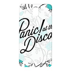 Panic At The Disco Quote Samsung Galaxy Note 3 N9005 Hardshell Back Case
