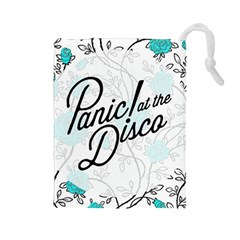 Panic At The Disco Quote Drawstring Pouches (large)