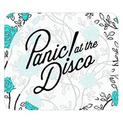 Panic At The Disco Quote Double Sided Flano Blanket (small)  by Samandel