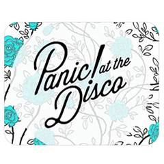 Panic At The Disco Quote Double Sided Flano Blanket (medium)  by Samandel