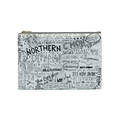 Panic At The Disco Lyrics Cosmetic Bag (medium)