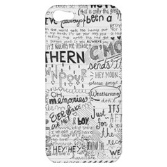 Panic At The Disco Lyrics Apple Iphone 5 Hardshell Case