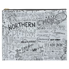 Panic At The Disco Lyrics Cosmetic Bag (xxxl)  by Samandel
