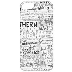 Panic At The Disco Lyrics Apple Iphone 5 Classic Hardshell Case