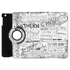 Panic At The Disco Lyrics Apple Ipad Mini Flip 360 Case by Samandel