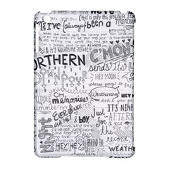 Panic At The Disco Lyrics Apple Ipad Mini Hardshell Case (compatible With Smart Cover) by Samandel